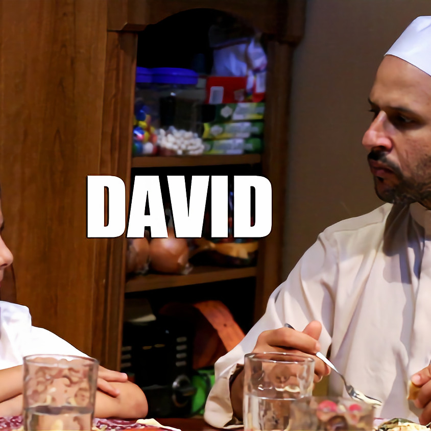 """6:15pm Sun. """"David""""  Meeting n'Greet and Q&A With Director & Producer: Joel Fendelman"""