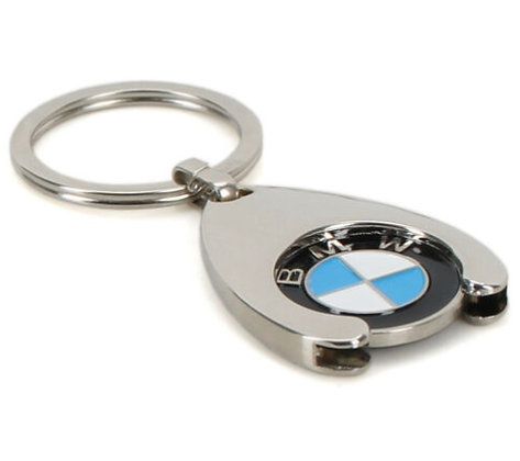Original BMW Schlüsselanhänger Einkaufschip Chip