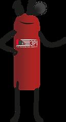 extincteur mascotte new logo NOIR.png
