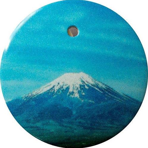 スタートボタン カバー ・ 富士山 ・ えっ 貼るだけ!? かんたん取付 プッシュ スタートボタン アクセサリ カバー ホンダ車用