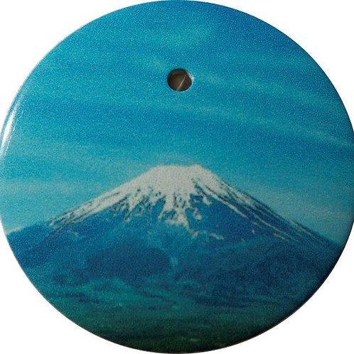 スタートボタン カバー ・ 富士山  トヨタ ダイハツ スバル 車用