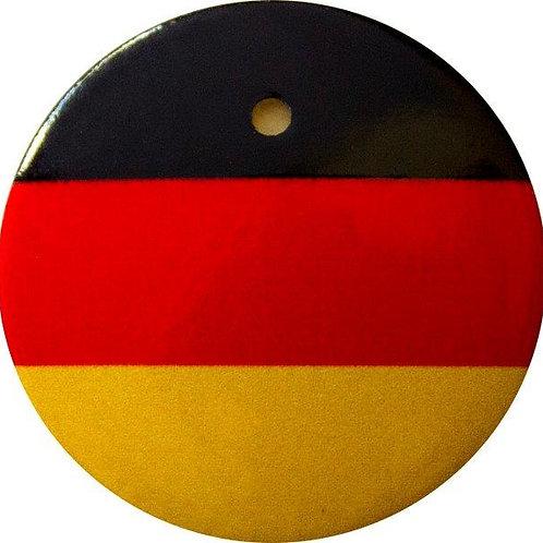 スタートボタン カバー ・ ドイツ 国旗 風 ・ えっ 貼るだけ!? かんたん取付 プッシュ スタートボタン アクセサリ カバー ホンダ車用