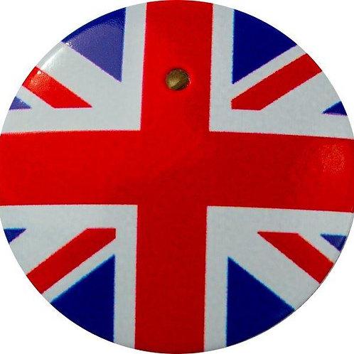 スタートボタン カバー ・ イギリス 国旗 風  トヨタ ダイハツ スバル 車用