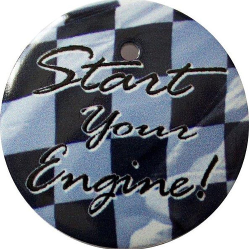 スタートボタン カバー ・ スタートエンジン ・ えっ 貼るだけ!? かんたん取付 プッシュ スタートボタン アクセサリ カバー ホンダ車用