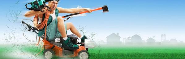 Lärmschutz-Rasenmähen-Mittagszeit-Thin