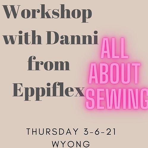 Workshop with Danni from Eppiflex