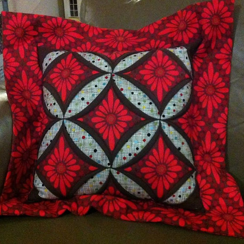 Cathedral Windows Cushion
