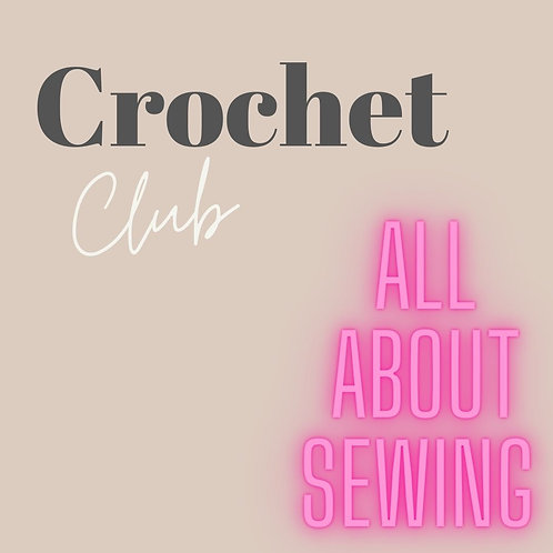 Crochet Club...... Instore Only