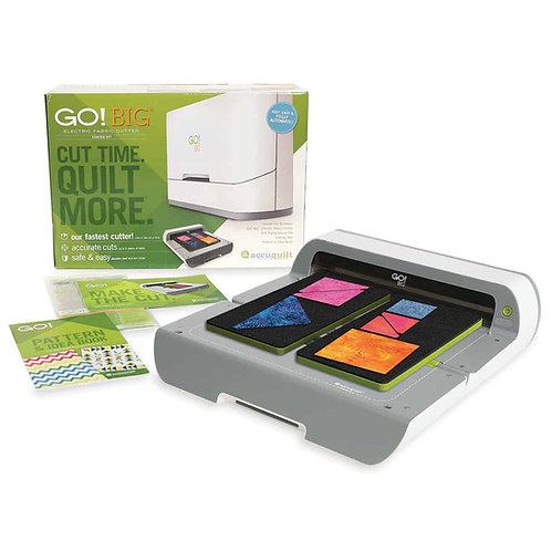 Accuquilt Go . Big Electric Fabric Cutter Starter Set