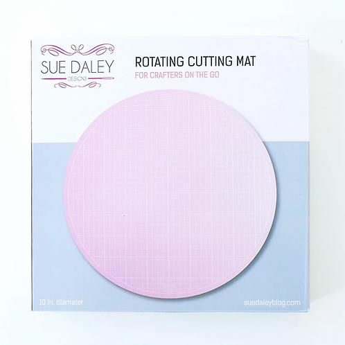 Pink Rotating Cutting Mat / 10inch