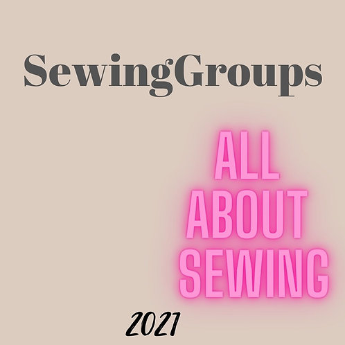 Sewing Groups....... Instore Only