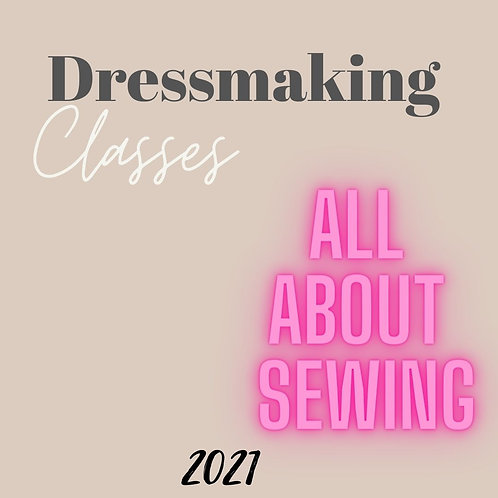 Dressmaking Class....Instore Only