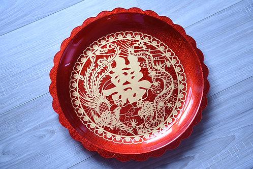 Dragon Phoenix Tea Tray