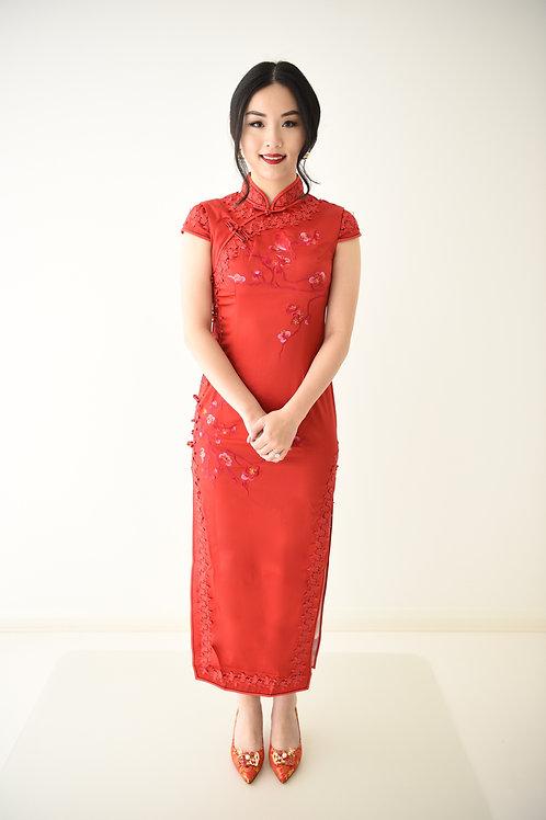 Blossom Qi Pao