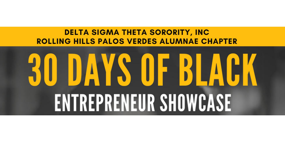 30 Days of Black: Entrepreneur Showcase