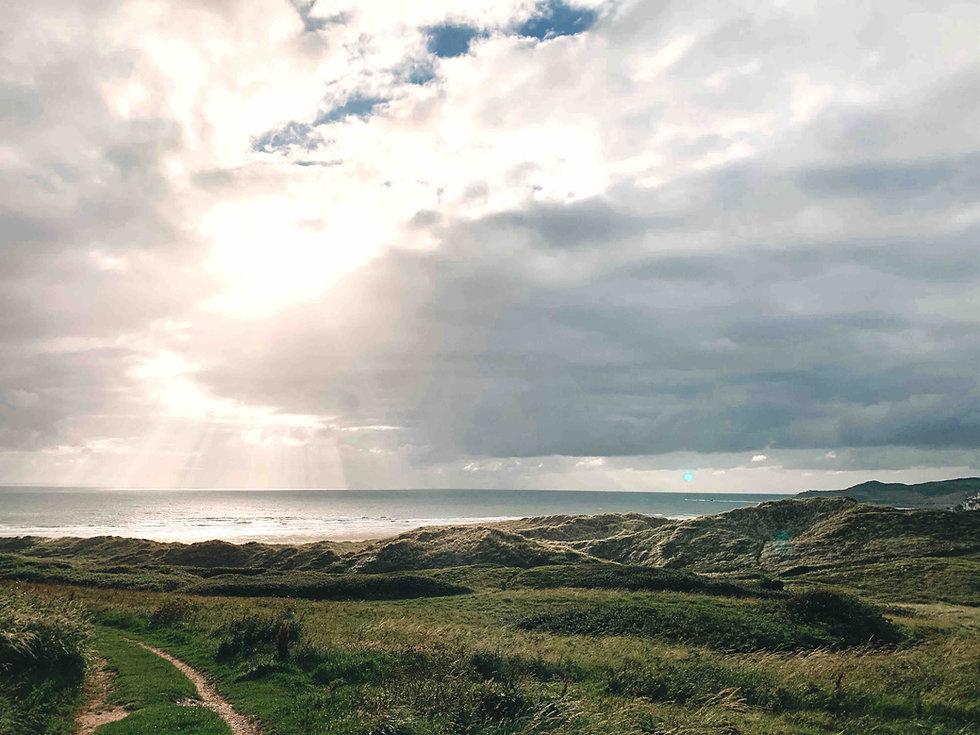 Exmoor coastline North Devon