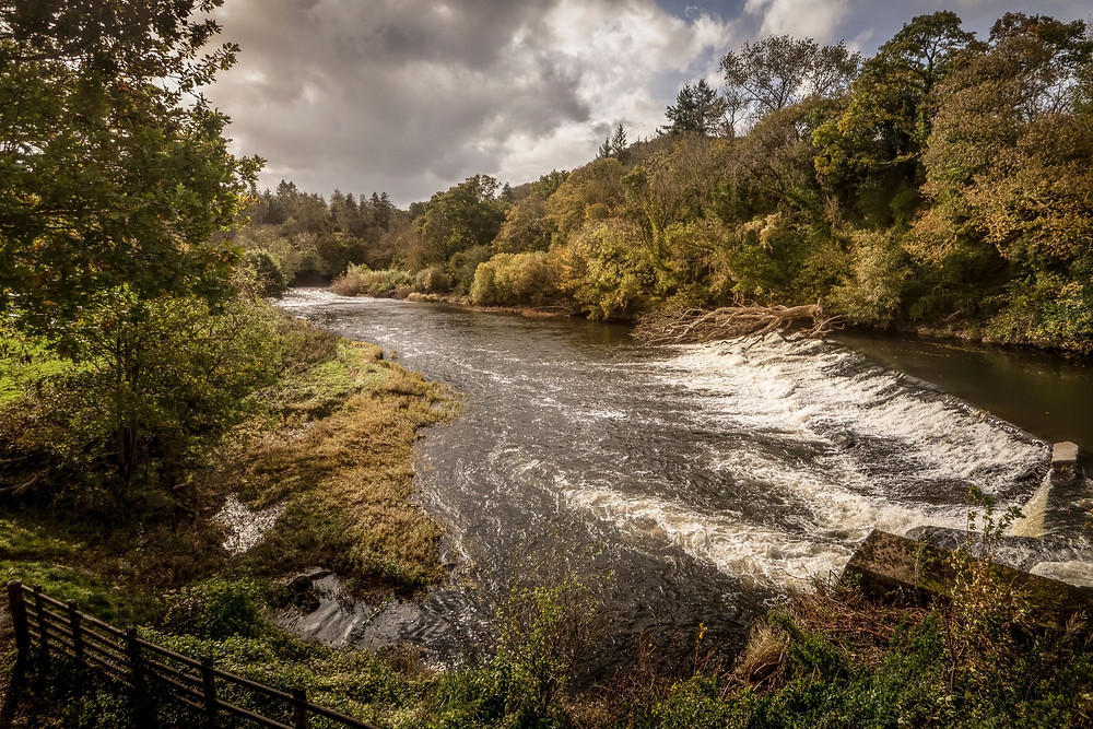 Beam Weir on the River Torridge near Torrington