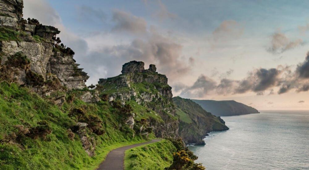 Valley of Rocks, North Devon