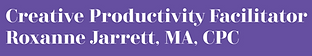 creative productivity facilitator purple