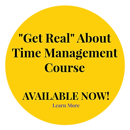 Get Real About Time Management Yellow Ci