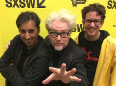 Me, Martin Atkins and DJV