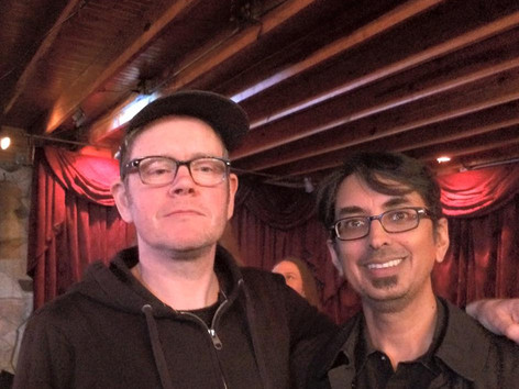 Chris Connelly and me