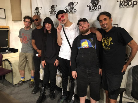 DJV, Mike, Andy, Forrest, Isaac and me