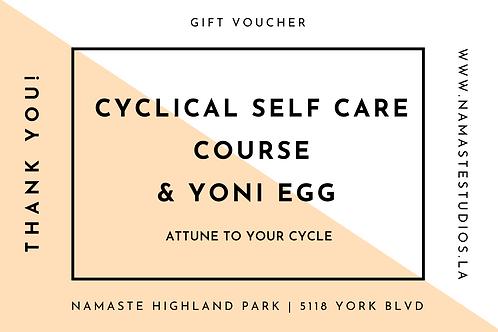 Yoni Egg & Cyclical SELF CARE Course