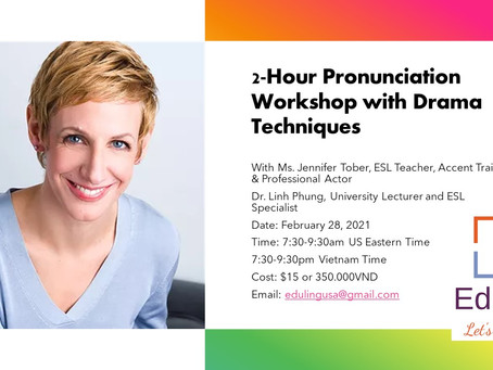 Improving Pronunciation with Drama Techniques