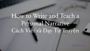 How to Write and Teach a Personal Narrative