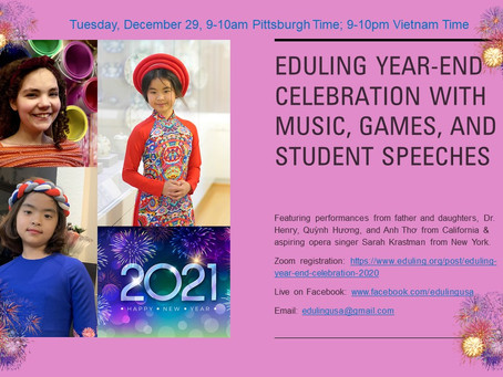 Eduling Year-End Celebration 2020