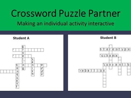 Crossword Puzzle Partner