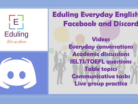Join Eduling Everyday English