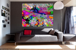 Rooms to  showcase my art