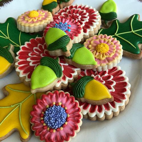 18 cookies - DAHLIA BOUQUET