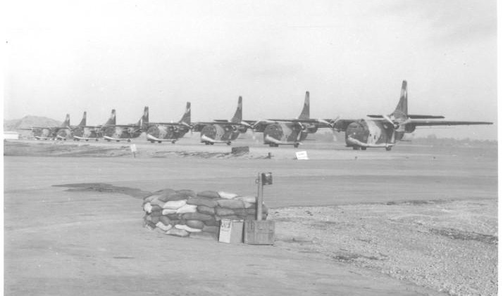 USAF Fairchild UC-123 Providers
