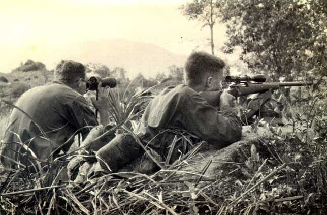 Snipers during Operation Swift.  Source: Photo from JD Murray