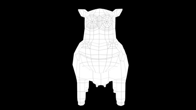 Cow's Wireframe