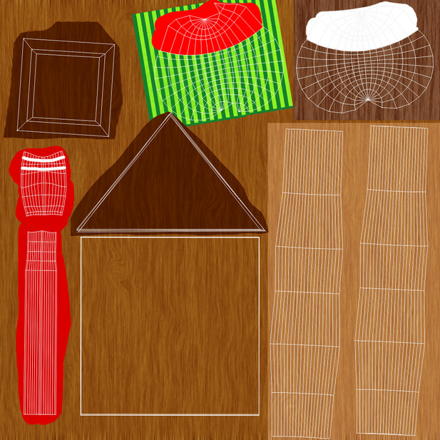 The Coconut Cabana's Texture