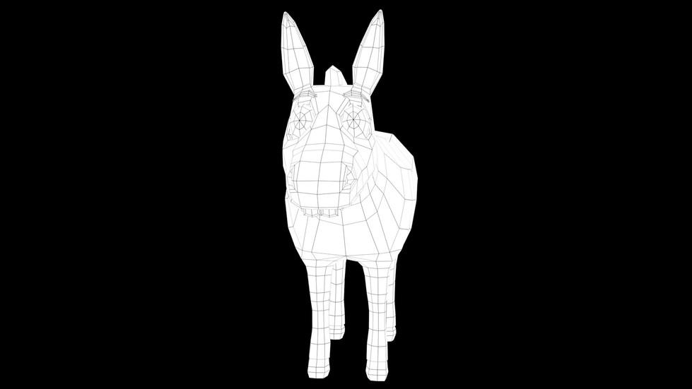 Donkey's Wireframe