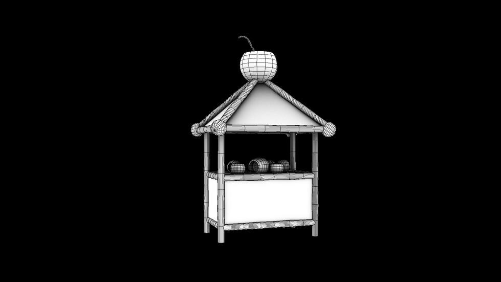 The Coconut Cabana's Wireframe
