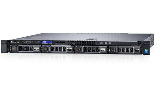 "Dell PowerEdgeR330,4 x 3.5"",1xE3-1230v5,8GB,2 x300GB SSD 2x4TB SAS,H730,With OS"