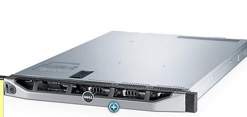 Dell R420 8bays 2 x 8Core E5-2470 192GB RAM 4x900GB HDD SAS H710 ,2 PSU,Rails.