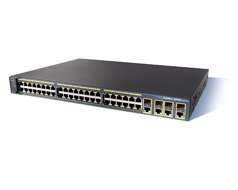Cisco Catalyst WS-C2960G-48TC-L Switch