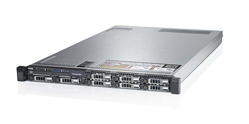 """Dell PowerEdge R620,8 x 2.5""""Chassis,2xE5-2680V2,128GB memory, 4 x 1TB HDD,H710"""
