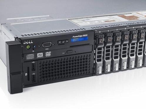 Dell PowerEdge R820 Server Four Xeon E5-4620 8 Core 2.2GHz 768GB 8x 600G