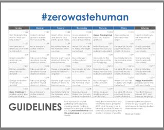 The #zerowastehuman Challenge