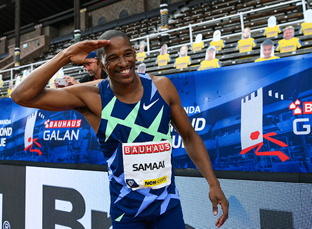 Ruswahl Samaai leaps to gold at Stockholm Diamond League