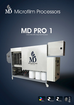 MD PRO1 Colour Microfilm Processor