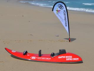 Adaptive Waveski Surfing Concept